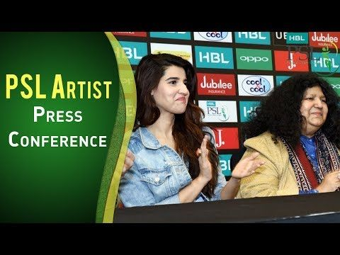 PSL Artist | Press Conference | Excited For PSL | PSL 2018 | PSL