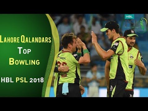 Lahore Qalandars Bowling | Lahore Qalandars Vs Karachi Kings  | Match 8 | 26 Feb | HBL PSL 2018 | PS