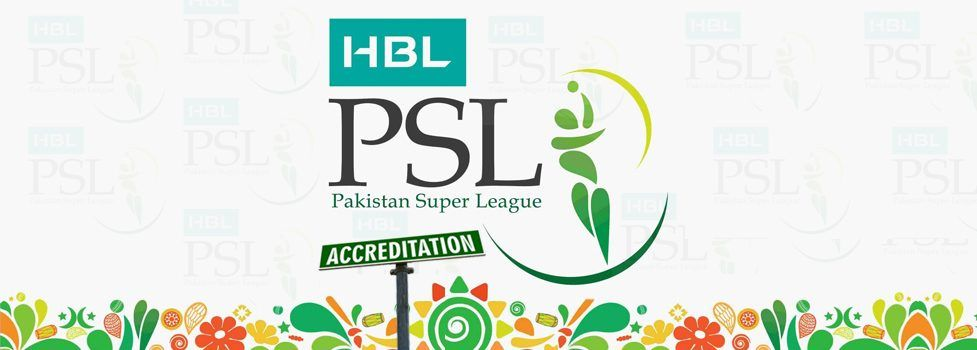 Media Accreditation for HBL Pakistan Super League opens