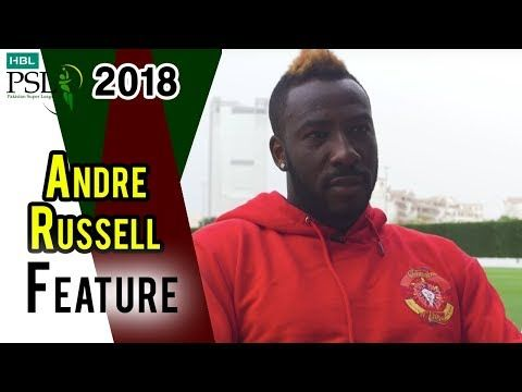 Andre Russell Feature Interview | HBL PSL 2018