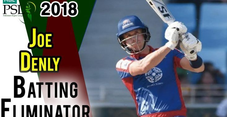 Joe Denly Batting | Karachi Kings Vs Peshawar Zalmi | Eliminator 2 | 21 March | HBL PSL 2018