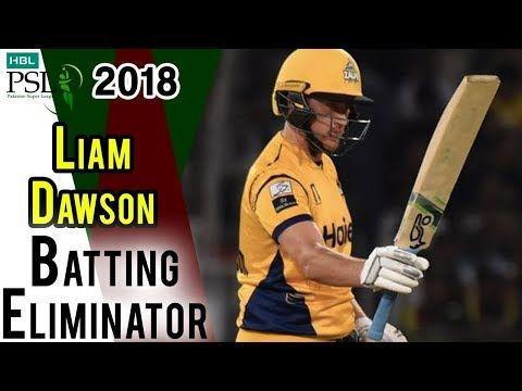 Liam Dawson Batting | Peshawar Zalmi Vs Quetta Gladiators|Eliminator 1 | 20Mar |HBL PSL 2018