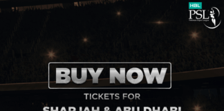 HBL PSL 2019 Sharjah and Abu Dhabi tickets are NOW available online
