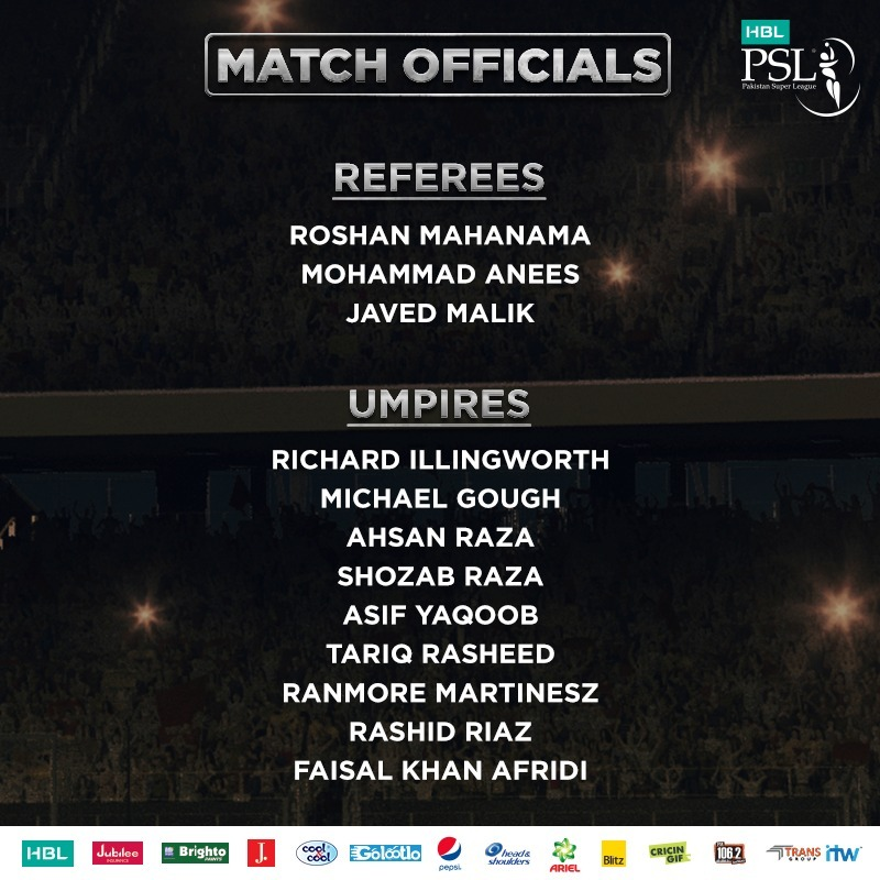 Michael Gough to umpire in Lahore as PCB announces match officials for HBL PSL 2019