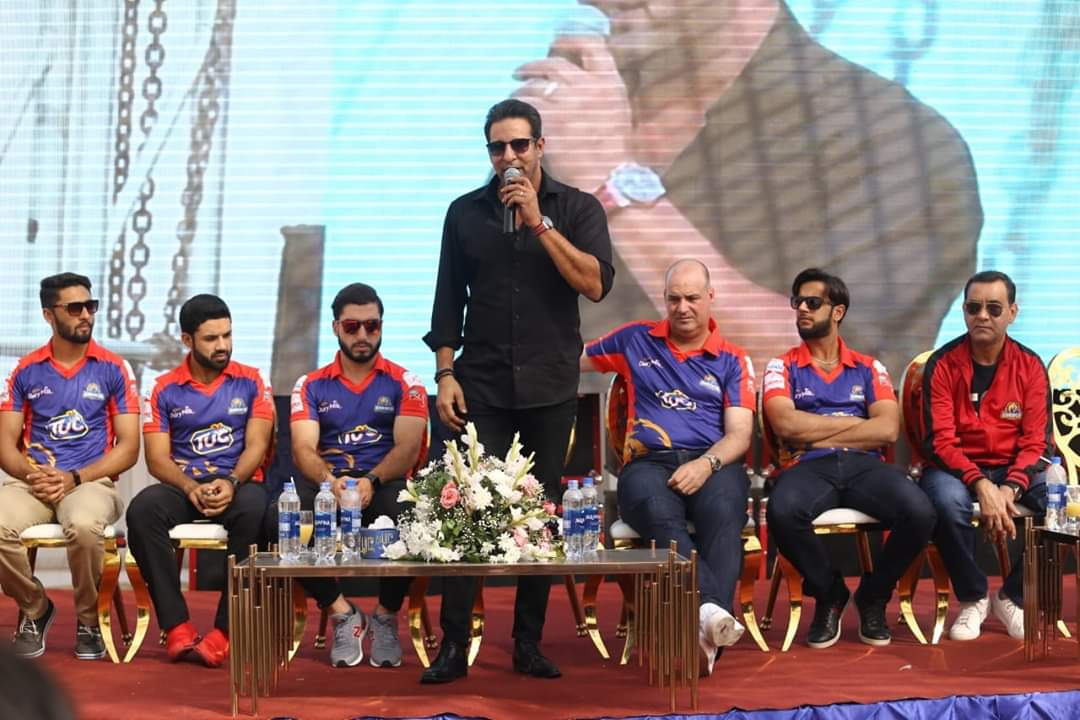 Wasim Akram urges fans to fill up stadia for HBL PSL