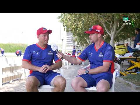 """""""The Colins"""" of Karachi Kings talk about playing at the #HBLPSL and that memorable Sharjah century."""