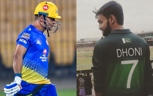 MS Dhoni fever takes over PSL 2020 as a Pakistani fan dons the former India skipper's jersey