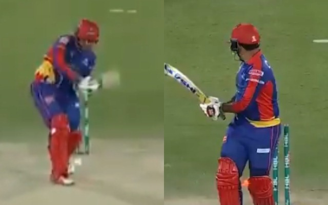 PSL 2020: Naseem Shah castles Sharjeel Khan with a beauty of a delivery