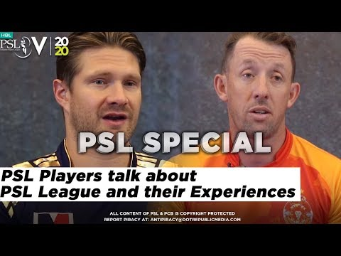 PSL Players talk about PSL League and their Experiences | HBL PSL 2020
