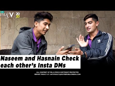 Hasnain and Naseem Try To Read Each Other's Instagram DMs