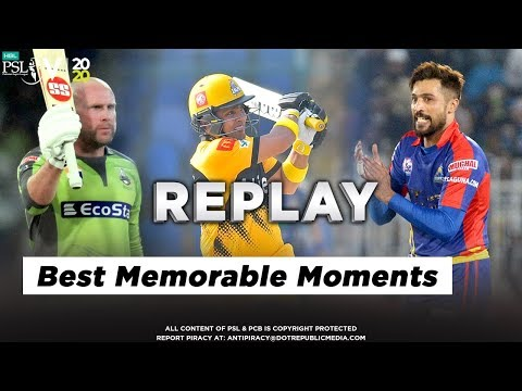 Some of the Best Memorable Moments of HBL PSL 5 So Far   HBL PSL 2020
