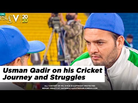 Usman Qadir on his Cricket Journey and Struggles | HBL PSL 2020