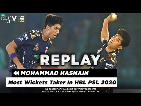 Most Wickets Taken In HBL PSL 2020 | Top Bowler Mohammad Hasnain | HBL PSL 5