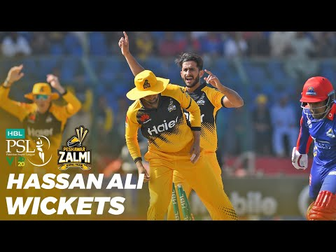 Hassan Ali Wickets | Karachi Kings Vs Peshawar Zalmi | HBL PSL 2020 | MB2T