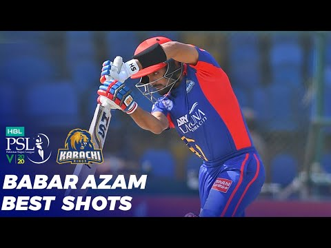 Baber Best Shots | Karachi Kings Vs Peshawar Zalmi | HBL PSL 2020 | MB2T