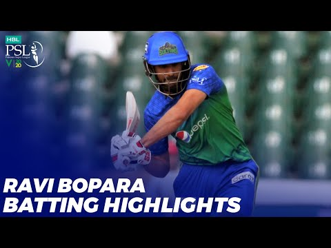 Ravi Bopara Batting Highlights | Karachi Kings vs Multan Sultans | HBL PSL 2020 | MB2T
