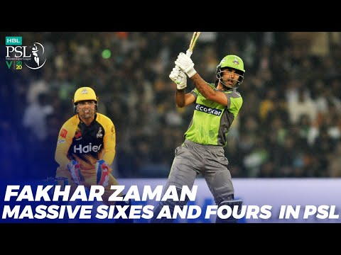 Fakhar Zaman Massive Sixes And Fours in HBL PSL 2020 | MB2T