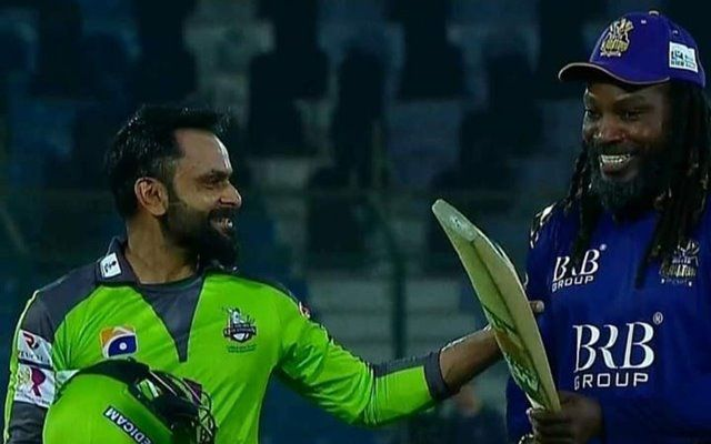 'I don't have muscles like you' – Mohammad Hafeez reveals the conversation with Chris Gayle after their PSL match