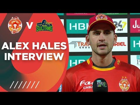 Alex Hales Interview | Islamabad United vs Multan Sultans | Match 3 | HBL PSL 6 | MG2T
