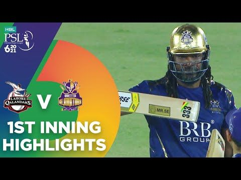 1st Inning Highlights | Lahore Qalandars vs Quetta Gladiators | Match 4 | HBL PSL 6  | MG2T