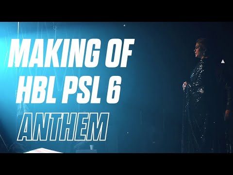 Groove Mera | BTS | Making Of HBL PSL 6 Anthem
