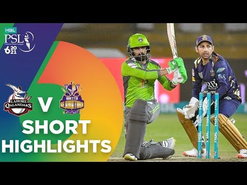 Short Highlights | Lahore Qalandars vs Quetta Gladiators | Match 4 | HBL PSL 6  | MG2T