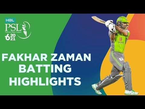 Fakhar Zaman Batting Highlights | Lahore Qalandars vs Quetta Gladiators | Match 4 | HBL PSL 6 | MG2T