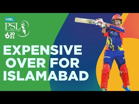 Expensive Over For Islamabad United   Karachi Kings vs Islamabad United   Match 6   HBL PSL 6   MG2T
