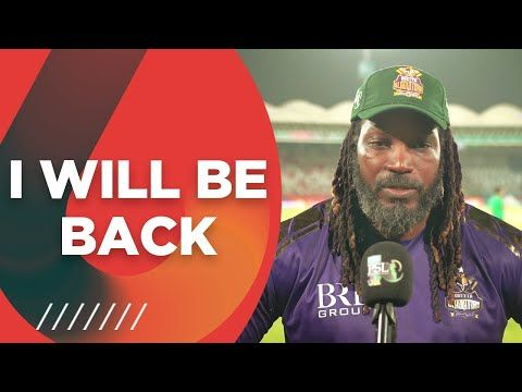 I Will Be Back   Chris Gayle Interview   HBL PSL 6   MG2T