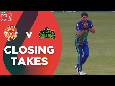 Closing Takes | Multan Sultans vs Islamabad United | Qualifier Match 31 | HBL PSL 6 | MG2T