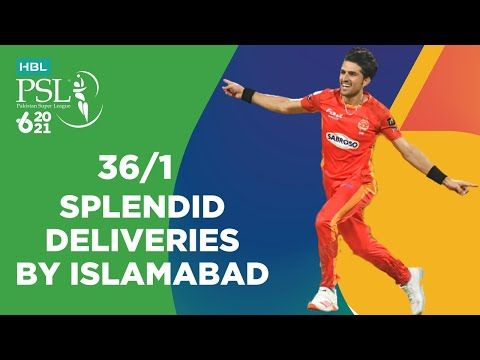 Splendid Deliveries By Islamabad   Quetta vs Islamabad   HBL PSL 6 2021   Match 18   MG2T