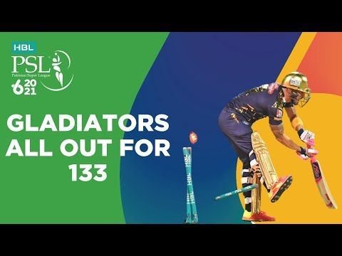 Gladiators All Out For 133 | Islamabad United vs Quetta Gladiators | Match 18 | HBL PSL 6 | MG2T