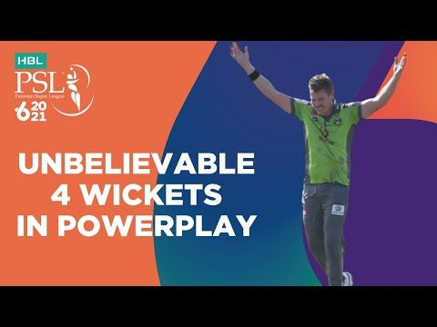 Unbelievable 4 Wickets In Powerplay | Lahore vs Islamabad | Match 20 | HBL PSL 6 | MG2T